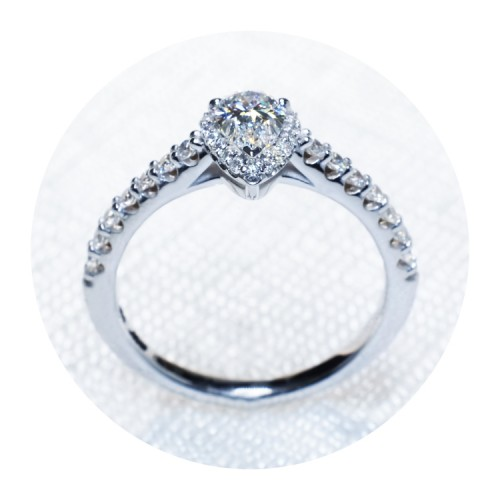 Gold or Platinum engagement ring with Diamonds i1192dipadi